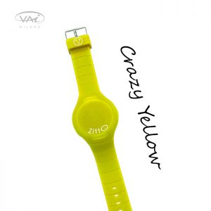 Orologio Zitto Giallo Crazy Yellow in Silicone Quadrante da 44 mm