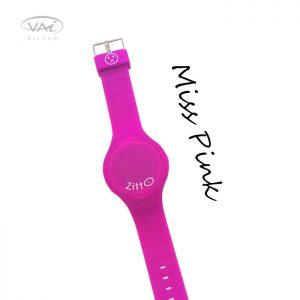 Orologio Zitto Rosa Miss Pink in Silicone Quadrante da 35 mm