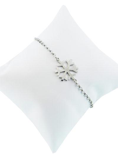 Bracciale Fiocco di Neve, bracciale, fiocco di neve, argento