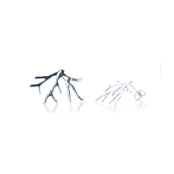 Orecchini Ramo di Corallo in Argento mis. Grande