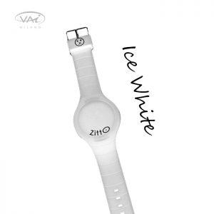 Orologio Zitto Bianco Ice White in Silicone Quadrante da 44 mm