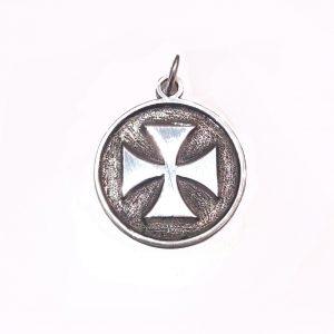 medaglia croce templare
