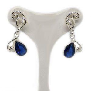 orecchini argento pendenti